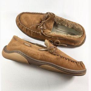 Rockport Men Tan Moccasins Size 11